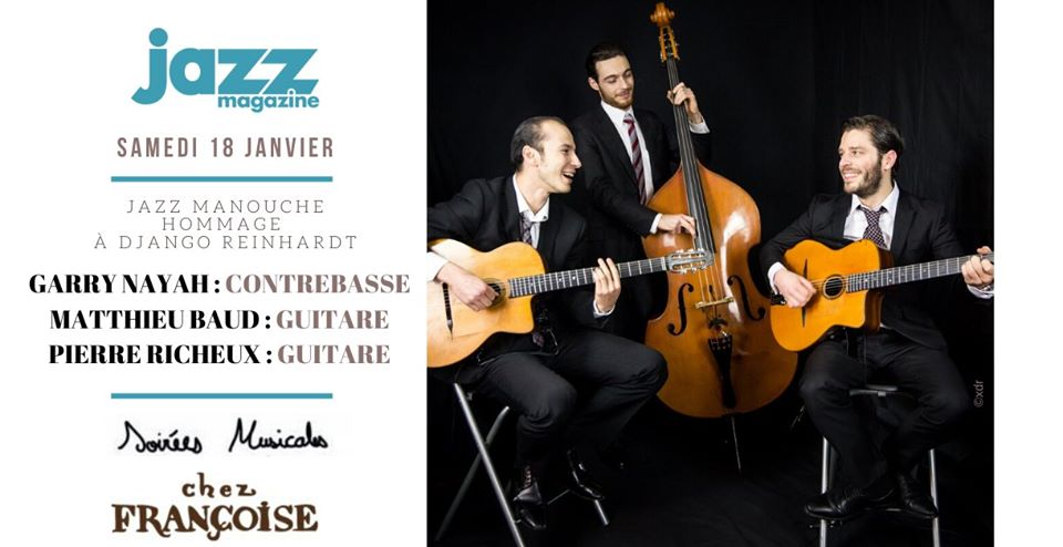 Soirée musicales Jazz en collaboration avec Jazz Magazine