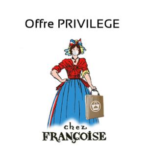 Offre Privilège - Restaurant Chez Francoise, à Paris