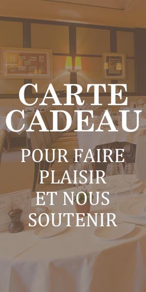 Chez Françoise Paris - Carte Cadeau